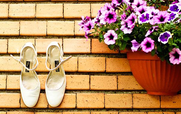 Pantofi albi de mireasa Mihaela Constanta