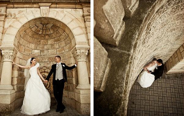 Sedinta foto coloane nunta Irina si Catalin Ramnicu Valcea
